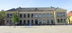 Gebäude vom Roskilde Gymnasium; ehem. Nutzung durch die Domschule.