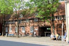 Fachwerkgebäude mit Toreinfahrt / Durchgang in der Ringstedgade von Roskilde.