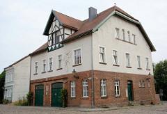 Gebäude der Freiwilligen Feuerwehr in Havelberg; errichtet 1907.