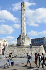 Friedensdenkmal am Martelarenplein in Löwen / Leuven; errichtet 1925 zum Gedenken an deutsche Kriegsverbrechen von 1914 in der Stadt.