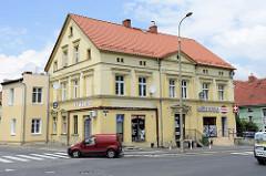 Wohnhaus / Geschäftsgebäude in der Straße   Wolności in Langenbielau, Bielawa.