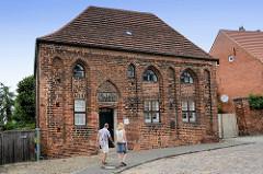 Beguinenhaus - Hospitalkapelle aus dem Mittelalter am Salzmarkt in der Hansestadt Havelberg.
