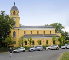 Evangelische Kirche St. Peter und Paul, Franzensbad / Františkovy Lázně; geweiht 1880 - Entwurf  Karl Haberzettl.