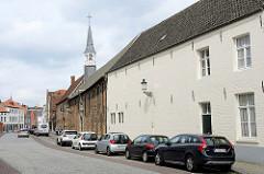 Blick zur Abtei von Sint-Godelievea in Brügge - ehem. Abtei der Benediktiner.