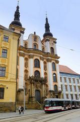 Jesuiten Kirche Maria Schnee/Kostel Panny Marie Sněžné in Olomouc / Olmütz; Barockkirch, errichtet 1716.