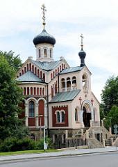 Russisch-orthodoxe Kirche des Heiligen Wladimir / Svaty Vladimir in Marienbad / Mariánské Lázně; geweiht 1902 - Architekt  . Nikolai W. Sultanow.