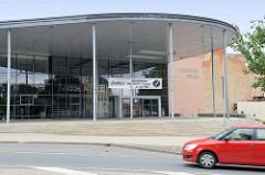 Sport- und Kulturhalle Goldener Pflug in Altenburg - Mehrzweckhalle; errichtet 2004
