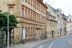 Historische Wohnhäuser in der Johannisstraße von Altenburg.