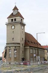 Gebäude der evangelischen Kirche der Böhmischen Brüder in Olomouc, geweiht 1920 - Baumeister Jan Komrska.