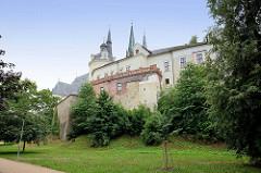Rückseite vom Wenzelsdom in Olmütz / Olomouc - Kuppel bei der Kapelle St. Anny, bischöfliche Wohnanlagen.