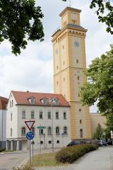 Kunstturm Altenburg - ehem. Wasserkunst / Wasserturm - 1844 eingeweiht, Architekt Wilhelm Wagenbreth. Der Wasserturm wurde 1887 stillgelegt; Sanierung 1992.
