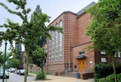 Blick auf die Grundschule der Stadt Güstrow - Schule am Hasenwald in der Hafenstraße.