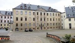 Aussenansicht vom Festsaal / Festsaalflügel vom Schloss Altenburg.
