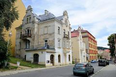 Renovierungsbedürftige Gründerzeitvilla in     Marienbad / Mariánské Lázně.