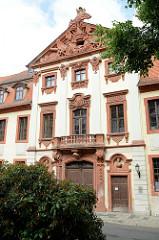 Fassade vom Seckendorffschen Palais  in Altenburg, errichtet für den Generalfeldmarschall Reichsgraf 1724.