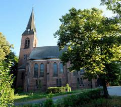 Pfarrkirche / Friedenskirche in Finow / Eberswalde.