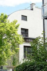 Bilder der Architektur in Wien - Haus Steiner in der St. Veitgasse; ; Architekt Adolf Loos, 1910. Adolf Loos (1870 - 1933) war ein österreichischer Architekt, der als einer der Wegbereiter der modernen Architektur gilt.