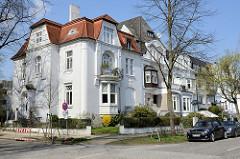 Jugendstilvillen an der Geffckenstraße im Hamburger Stadtteil Eppendorf.