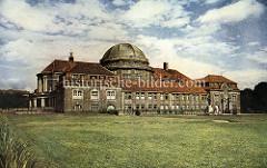 Historische Aufnahme vom Vorlesungsgebäude der Universität Hamburg.