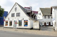 Historisches Einzelhaus in der Straße Neustadt von Flensburg - Wohnhaus mit Gewerberaum, errichtet 1780.