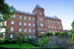 Gebäude vom Amts- und Landgericht Flensburg, errichtet 1882 - Entwurf Regierungsbaumeister Richard Plüddemann.
