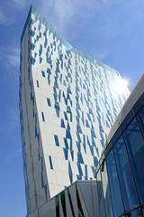 Gebäude vom  Bella Sky Hotel in Kopenhagen - eröffnet 2011, Architekturbüro  3XN.