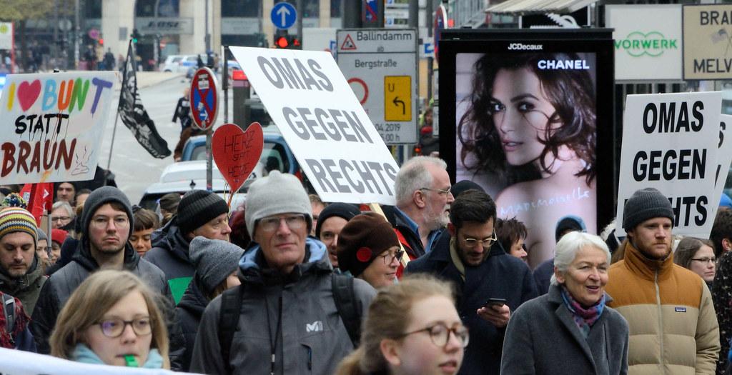 Demo Gegen Rechts Hamburg