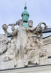 Detailbilder der Architektur Wiens
