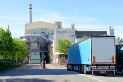 Bilder aus dem Hamburger Stadtteil Billbrook - Industrieanlage der Müllverwertung in der Borsigstraße.
