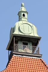 Turm eines Wohn- und Geschäftshaus in der Vesterbrogade von Kopenhagen.
