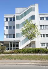 Bilder aus dem Hamburger Stadtteil Billbrook - Treppenhaus eines Verwaltungsgebäudes.
