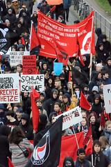 Demo gegen rechte Kundgebung in Hamburg - Hamburger Bündnis gegen Rechts.