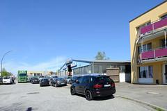 Bilder aus dem Hamburger Stadtteil Billbrook - Gewerbegebiet an der Werner-Siemens-Straße.
