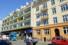 Wohnhäuser - Geschäftshäuser in der Matthæusgade von Kopenhagen;