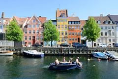 Blick über den Christianshavns Kanal in Kopenhagen.