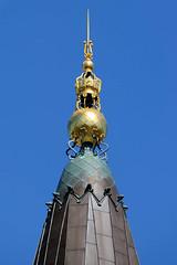 Turmspitze vom Palace Hotel an der Vester Vodgade in Kopenhagen; errichtet 1910 -  Architekt Anton Rosen.