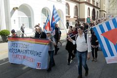 Ostermarsch 2019 - Demo für Abrüstung in Hamburg.