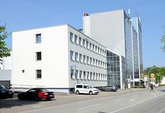 Fotos aus der Gemeinde Bönnigstedt - Kreis Pinneberg - Metropolregion Hamburg. Verwaltungsgebäude, Polizeistation in der Bönningstedter Kieler Straße.