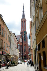 Walbrzych, Waldenburg in Schlesien ist eine Großstadt in der polnischen Woiwodschaft Niederschlesien.