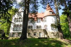 Haus Wiesenstein in Agnetendorf, Janiatkow - Wohnhaus, Sterbehaus von Gerhart Hauptmann.
