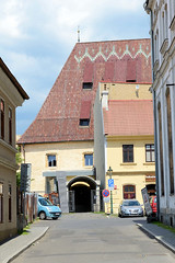 Bilder von der Stadt Leitmeritz - Litomerice in der Aussiger Region in Nordböhmen.