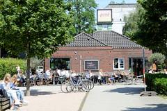 Bilder aus dem Hamburger Stadtteil Hoheluft Ost - Bezirk Hamburg Nord. hemalige Fahrzeugwerkstätten Falkenried - der Betriebshof für Straßenbahnen wurde 1892 eröffnet. Die Ziegelgebäude wurden um 1930 errichtet - die Anlage wurde 1999 geschlossen und