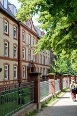 Architekturbilder aus dem Hamburger Stadtteil Eimsbüttel - Bezirk Eimsbüttel; Wohnstift an der Kielortallee, errichtet 1909 - Architekten Stammann & Zinnow.