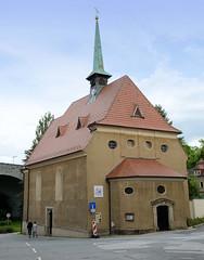 Fotos von der Stadt Löbau in der sächsischen Oberlausitz; Heilig Geist Kirche.