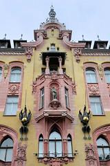 Bilder aus der Stadt Lodz in Polen.