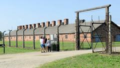 Das Konzentrationslager Auschwitz war ein deutscher Lagerkomplex zur Zeit des Nationalsozialismus.