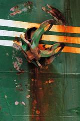Das ehem. Rettungsschiff  Sea-Eye hat am Lotsenkanal im Hafen von Hamburg Harburg festgemacht;