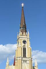 Novi Sad ist eine Stadt am Ufer der Donau im Norden Serbiens.