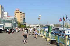 Fotos aus der rumänischen Stadt Tulcea, Hafenstadt  an der Donau - Tor zur Donaumündung.