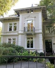 Marienthal ist ein Hamburger Stadtteil im Bezirk Hamburg Wandsbek. Stadtvilla Baustil der Gründerzeit, errichtet um 1890.